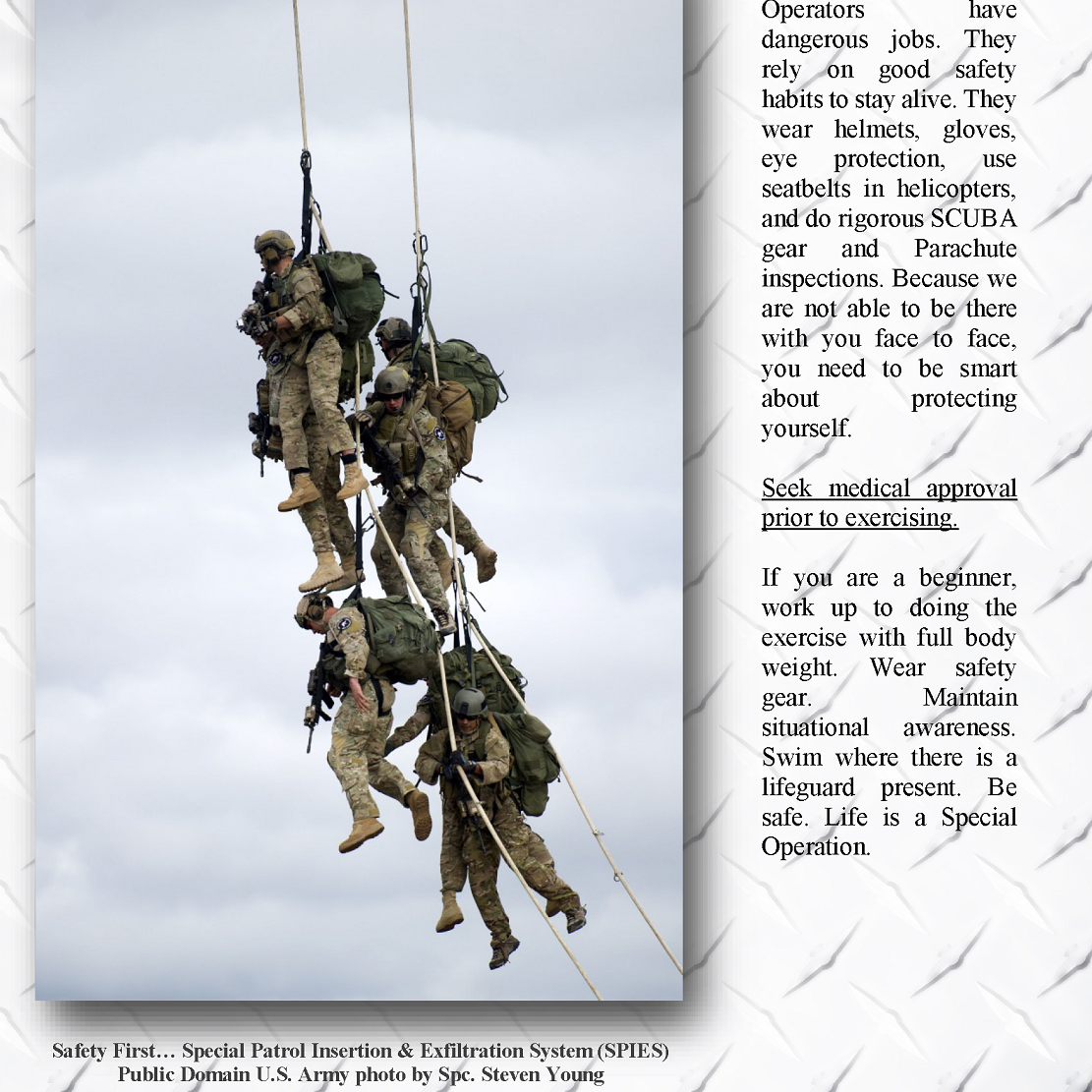 Special Operations Fitness Sample Page Page 10