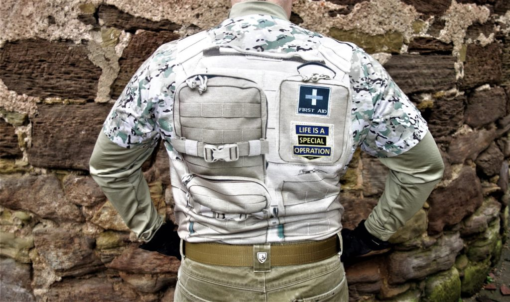 Multicam Body Armor back image by Life is a Special Operation