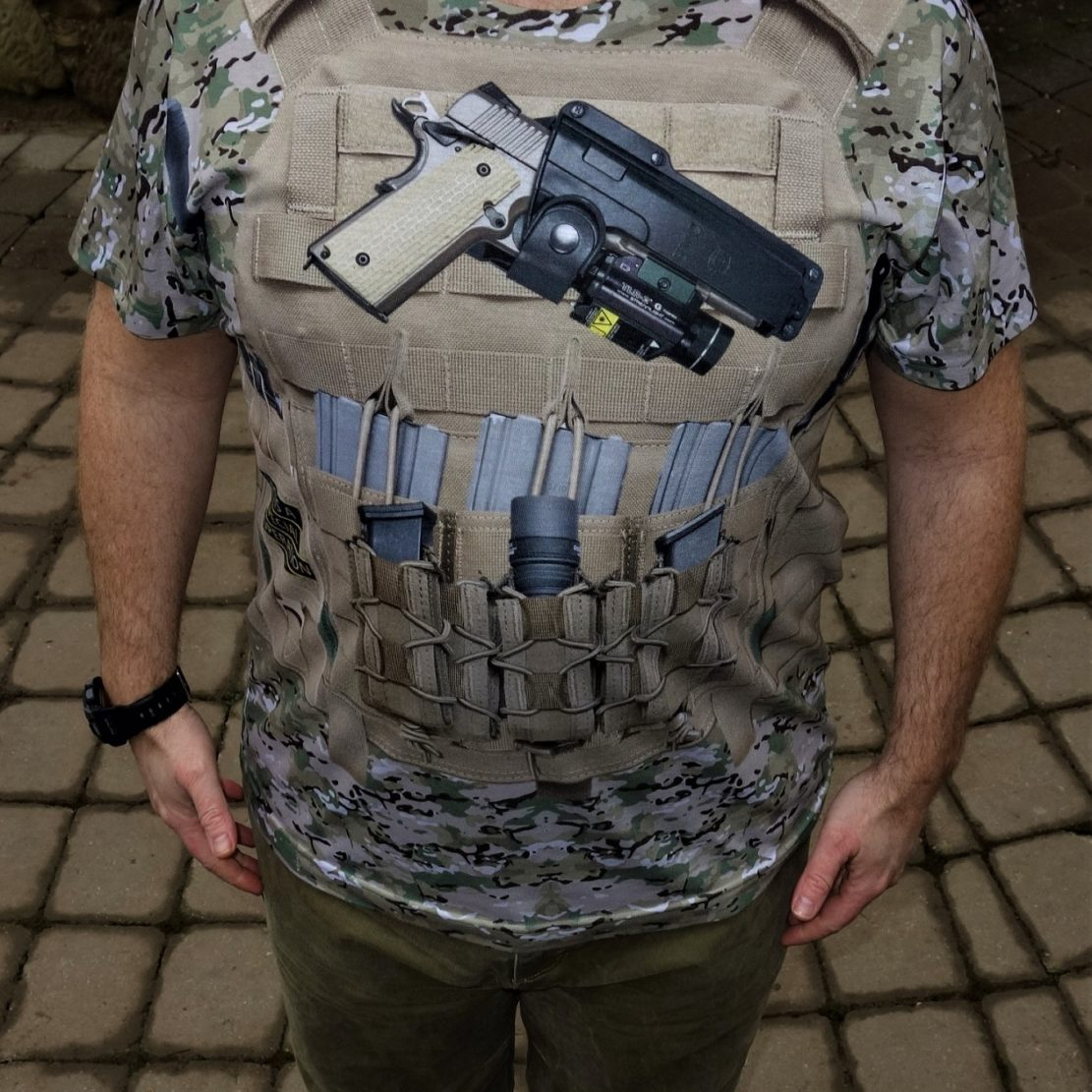 Multicam Body Armor front image by Life is a Special Operation