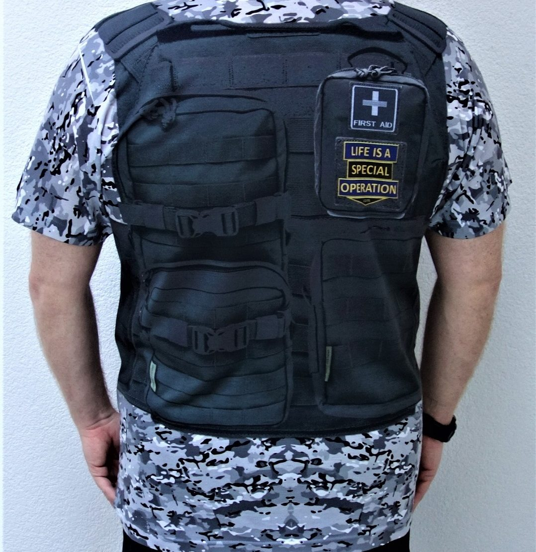 Police Body Armor back image by Life is a Special Operation
