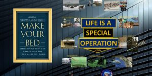 Make Your Bed Leadership Book Review by Life is a Special Operation