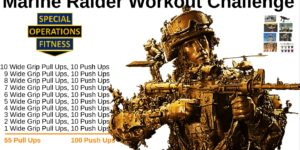 Marine Raider Workout Challenge by Life is a Special Operation