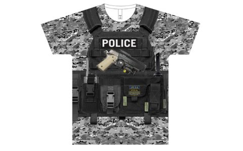 Police Body Armor T-Shirt