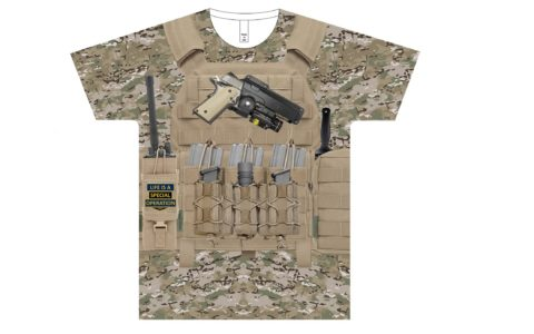 Special Forces Body Armor T-Shirt
